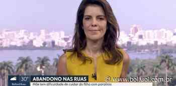 Âncora da Globo se emociona ao vivo após exibição de matéria - Bol - Uol