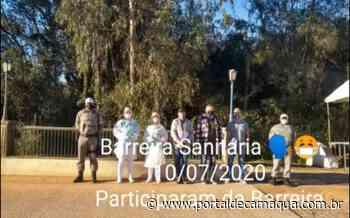 Administração Municipal de Mariana Pimentel promoveu mais uma barreira sanitária na entrada da cidade - Portal de Camaquã
