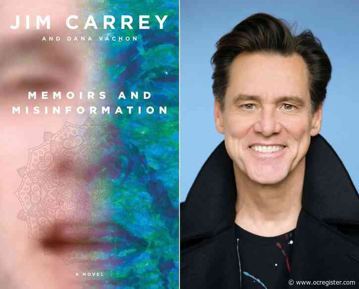 Jim Carrey gets real in his satirical fictional memoir