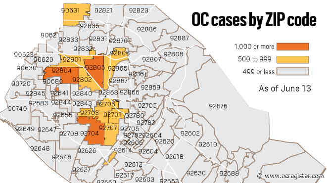 Coronavirus: 540 new cases reported; estimated 10,554 recoveries in Orange County as of July 13