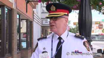 Police being proactive in downtown Medicine Hat - CHAT News Today