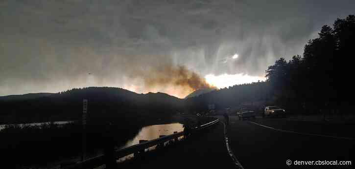 Rain Helps Firefighters Battling Elephant Butte Fire In Evergreen