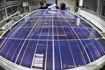 Schweizer Maschinenbauer plant Fertigung von Solarmodulen in Freiberg - Freie Presse