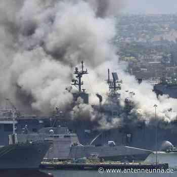 Feuer auf US-Kriegsschiff: Mehr als 20 Verletzte - Antenne Unna