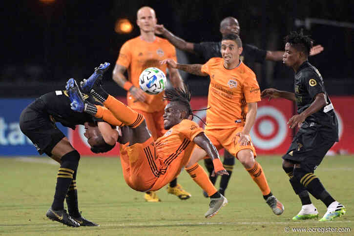 LAFC use a late rally to tie with Dynamo in MLS is Back tournament