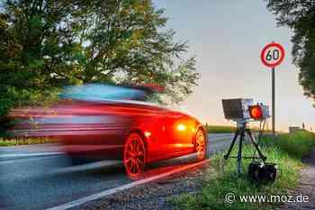 Verkehr: Wandlitz denkt über Kauf von eigenem Blitzer nach - Märkische Onlinezeitung
