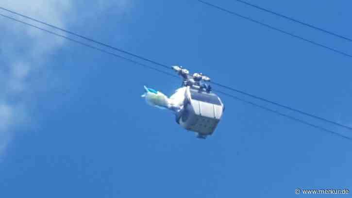Gleitschirmunfall (am Brauneck): Irre Rettung - Pilot landet auf Bergbahn-Gondeldach - Merkur.de
