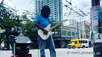 Musician sparks joy performing on Vancouver street corner