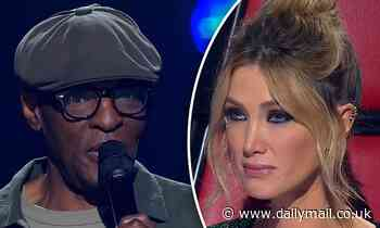 The Voice's Delta Goodrem breaks down in tears over Steve Clisby's exit