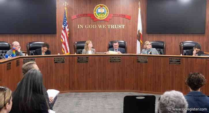 OC Board of Education votes to support return to school without social distancing, masks