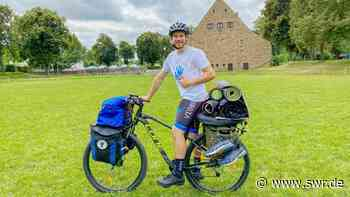 Oliver Binder aus Leingarten sammelt Geld für behinderte Kinder - SWR