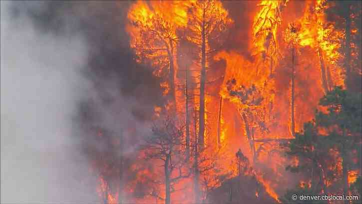Evacuations Expected To Last Overnight As Wildfire Burns Near Evergreen