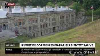 Loto du patrimoine : le fort de Cormeilles-en-Parisis bientôt sauvé - CNEWS
