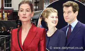Rosamund Pike likens red carpet premieres to 'being eaten alive' - Daily Mail