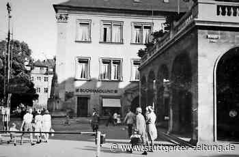 Stuttgart 1942: der Buchhändler Gengenbach - Hitlerbüsten im Schaufenster - Stuttgarter Zeitung