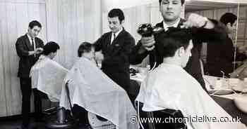How barbers in Newcastle used to look as hairdressing businesses reopen