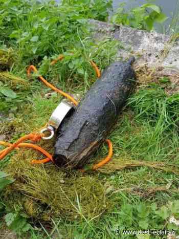 Nogent-sur-Seine : Un obus découvert au Monteuil - L'Est Eclair
