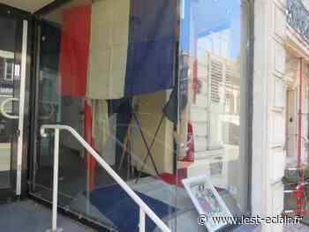 Des vitrines pavoisées pour le 14 Juillet à Nogent-sur-Seine - L'Est Eclair