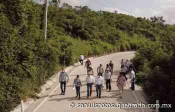Inaugura alcalde de Tamazunchale tramo de camino Quinta Chilla-Tamacol - Quadratín - Quadratín San Luis