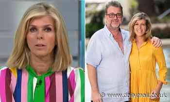 Kate Garraway reveals she's going to visit her husband Derek Draper amid COVID-19 battle