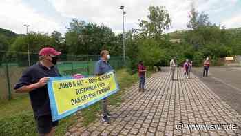 Freibad-Protest in Kirn | SWR Aktuell Rheinland-Pfalz | SWR Aktuell - SWR