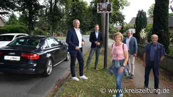Blinkende Ziffern als Signal an Raser - kreiszeitung.de