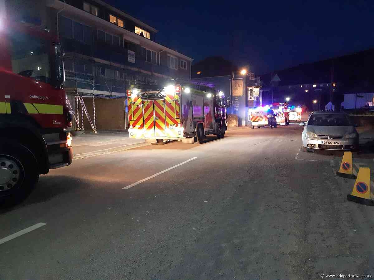 Flare warning after fire service attends 'property fire' at West Bay - Bridport and Lyme Regis News