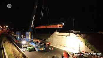 """""""Keerbrug"""" naar Zwijndrecht geïnstalleerd over E17 in Kruibeke - TV Oost"""