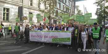 """Trotz Corona: Der """"Marsch für das Leben"""" findet statt"""