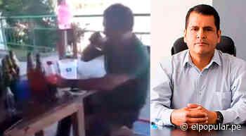 Junín: Alcalde de Pangoa fue captado tomando cerveza y sin mascarilla en plena cuarentena [VIDEO] - ElPopular.pe