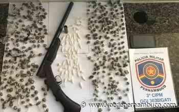 Homem é preso com drogas em Goiana - Voz de Pernambuco