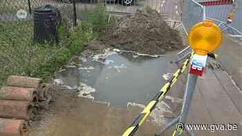 Noodherstelling waterlek in Schilde houdt niet stand (Schilde) - Gazet van Antwerpen