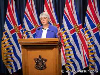 B.C. to give update on 'profound' financial challenge of COVID-19