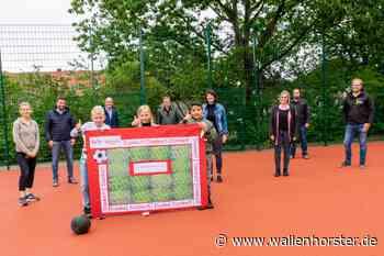 Kleinspielfeld an Wallenhorster Katharinaschule fertiggestellt - Wallenhorst aktuell - Wallenhorster.de