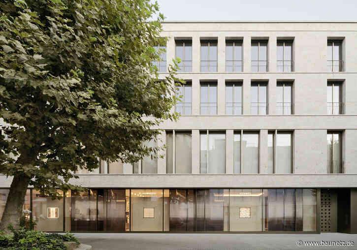 Muschelkalk für Stuttgart  - Geschäftshaus von wulf architekten
