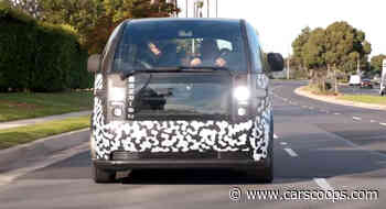 Jay Leno Checks Out The Intriguing All-Electric Canoo Van - CarScoops