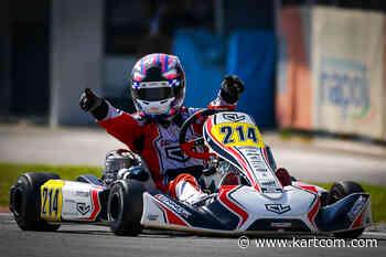 Sarno OK : grande victoire de Gray pour l'équipe Leclerc by Lennox - Kartcom