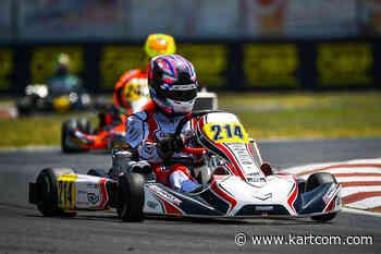 Gray signe la pole position OK de la WSK Euro - Kartcom