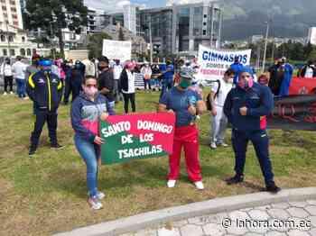 Gimnasios, a un paso de la quiebra - La Hora (Ecuador)