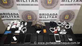 Brigada Militar prende dupla por tráfico de drogas em Arroio dos Ratos - Portal de Camaquã