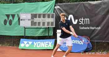 Spitzensport bei den Tennis Open Stadtwerke Meerbusch am Eisenbrand - Westdeutsche Zeitung
