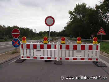 Neue Baustellen auf der B1 in Salzkotten und der Westerbachstraße in Höxter - Radio Hochstift