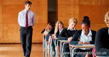 School exams will go ahead in Wales in November