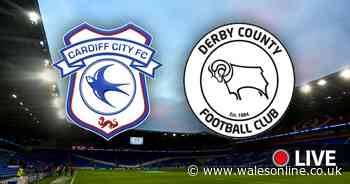 Cardiff City v Derby County LIVE