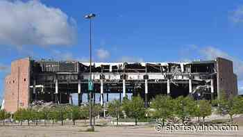 Home to three Pistons titles, the Palace of Auburn Hills demolished - Yahoo Sports