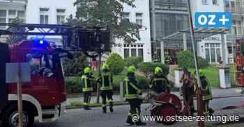 Das war der Grund für den Feuerwehreinsatz in Zinnowitz - Ostsee Zeitung