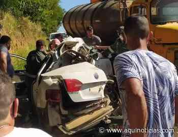 Morre segunda vítima de grave acidente na ES 490 em Itapemirim - Aqui Notícias - www.aquinoticias.com