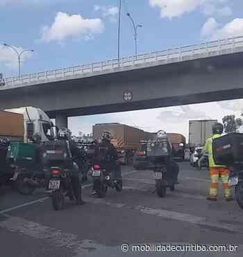 Incidente interdita Contorno Leste em São José dos Pinhais - Mobilidade Curitiba