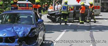 Berchtesgaden: Frontalunfall auf B305 mit glimpflichem Ausgang – schwerer Zusammenstoß mit Baum an B21 in Reichenhall - Berchtesgadener Anzeiger