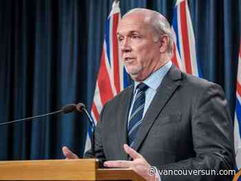 Horgan's approval rating on rise due to handling of COVID-19